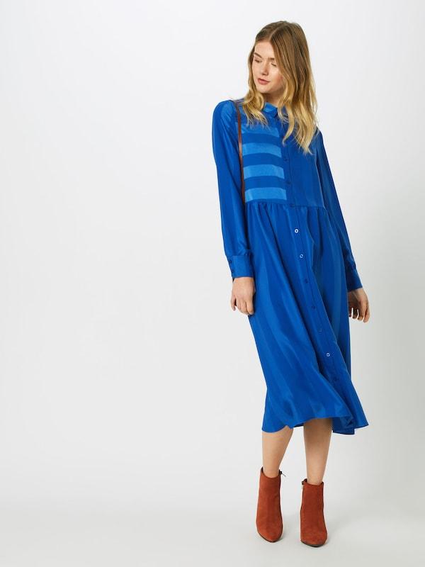 Ichi Cobalt chemise Robe En Bleu 6g7ybfY