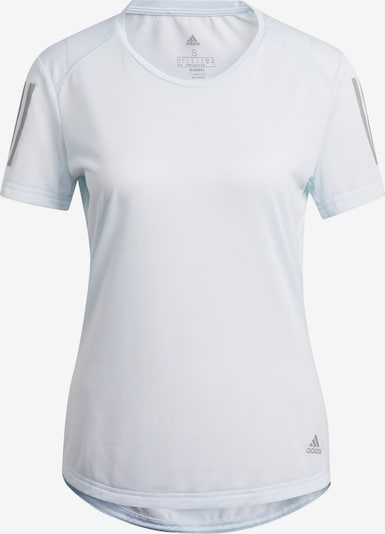 ADIDAS PERFORMANCE T-Shirt 'Own the Run' in azur / grau, Produktansicht