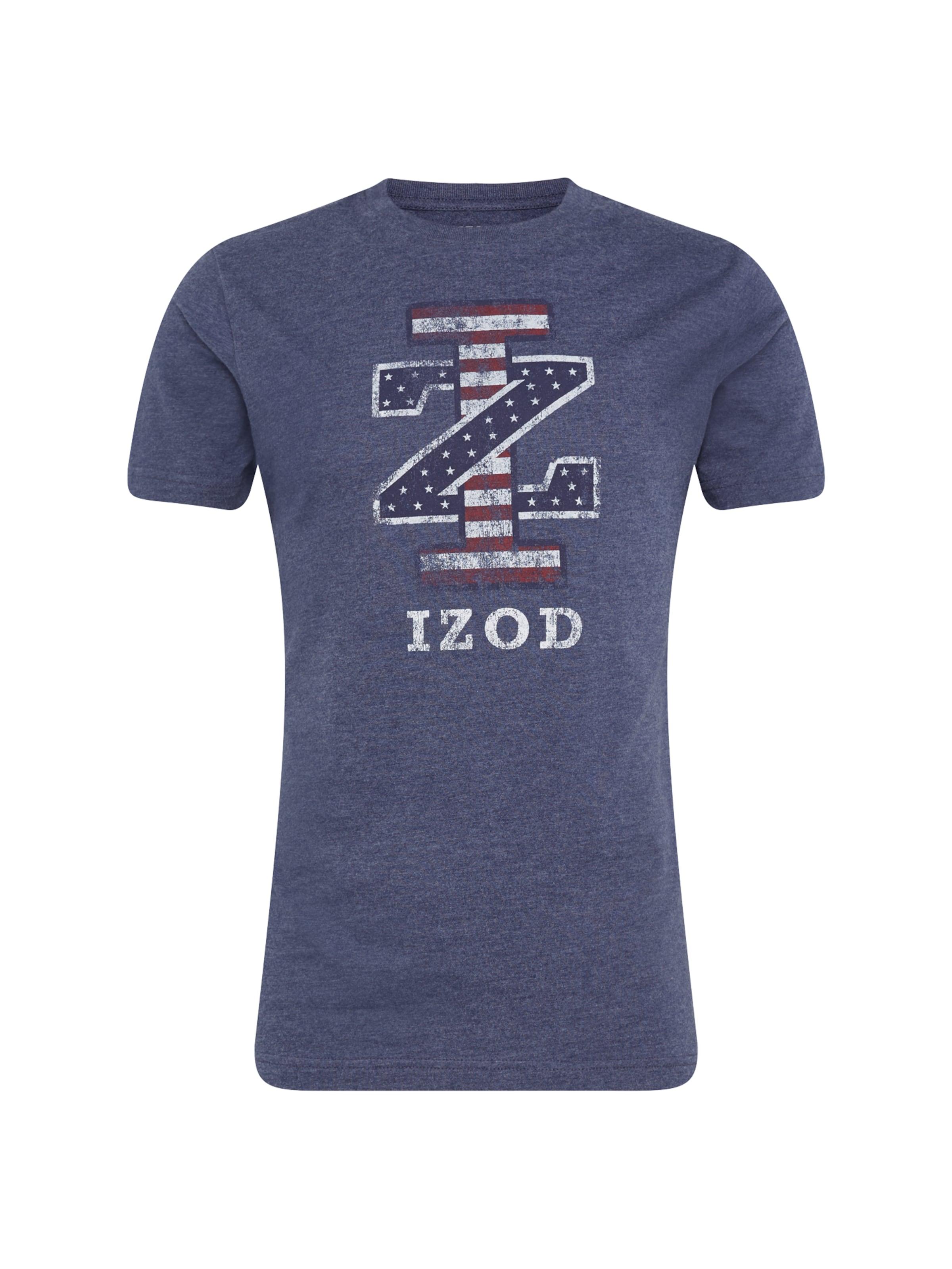 Graphic Bleu Couleurs 'iz De In Tee' FoncéMélange IzodT shirt 6gI7Yfybv