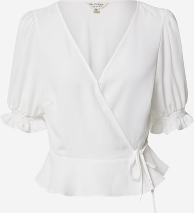 Miss Selfridge Blus 'IVORY SHIRRED WRAP BLOUSE' i vit, Produktvy