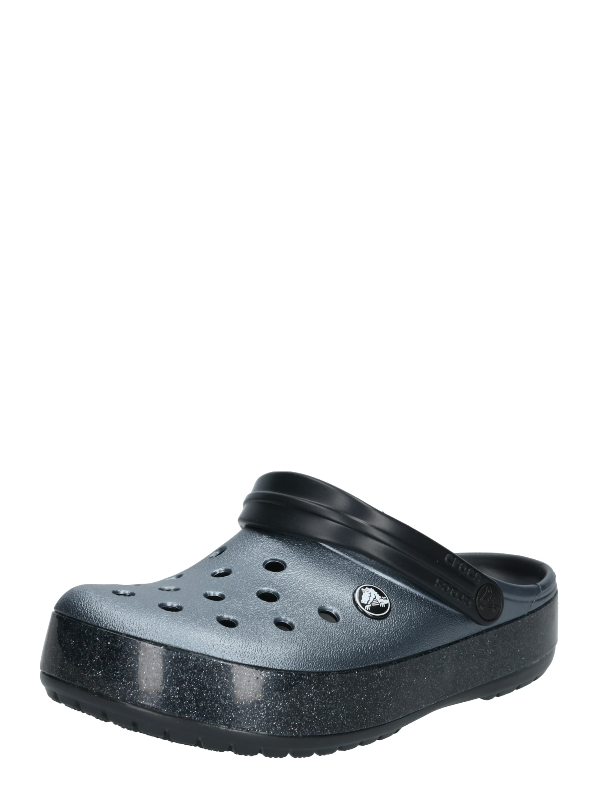 Sabots En Clog' Noir Printed Crocs 'crocband iPkXOZu