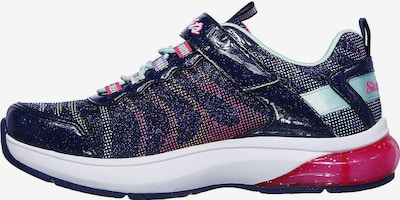 SKECHERS Sneakers 'Light Sparks' in hellblau / dunkelblau / neonpink, Produktansicht