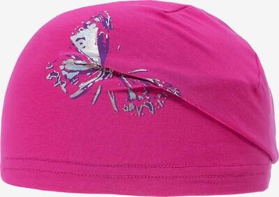 DÖLL Mütze in dunkellila / pink / silber, Produktansicht