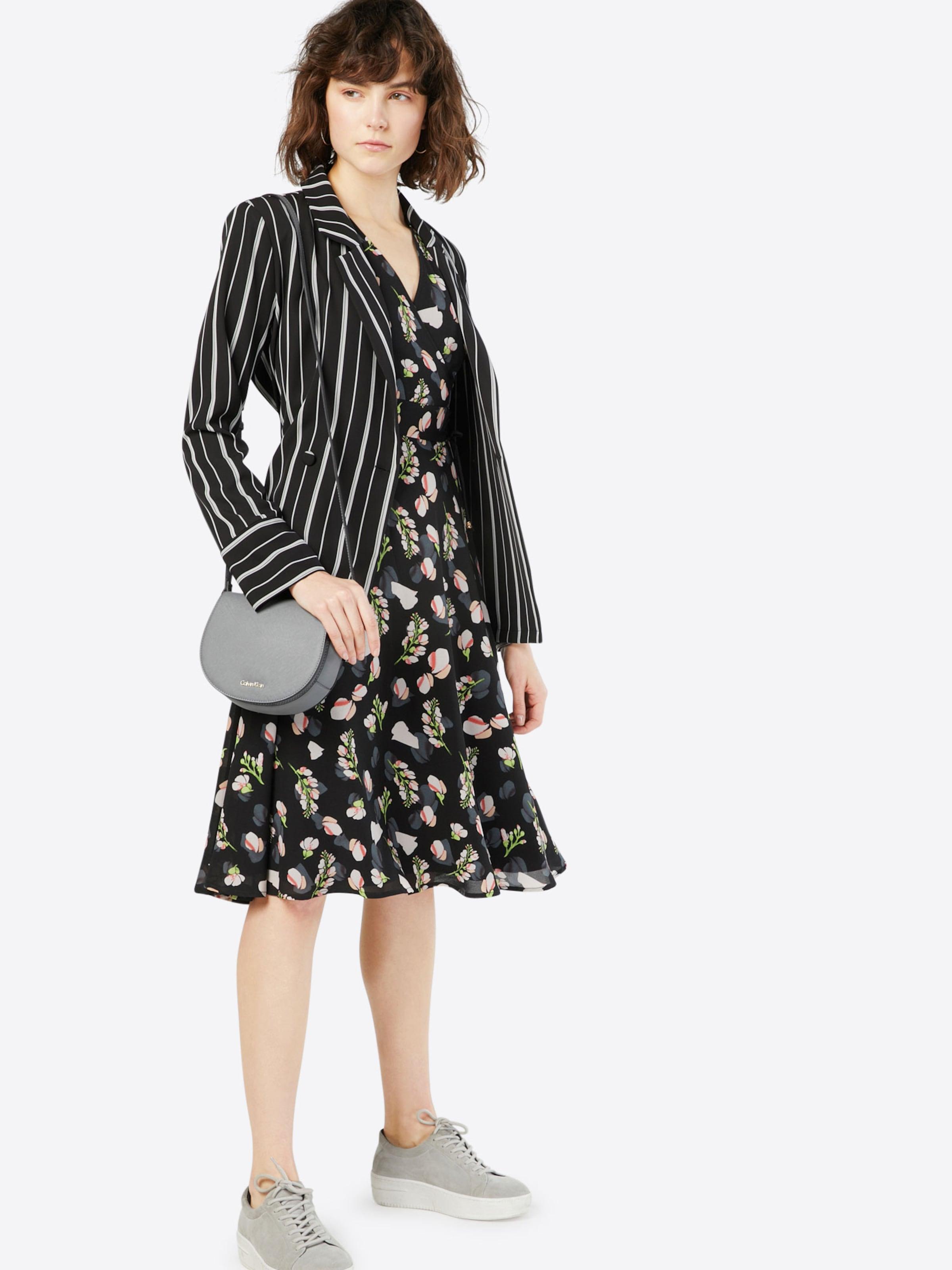 Tie' MischfarbenSchwarz Yumi Kleid 'lace In qULVSpMzG
