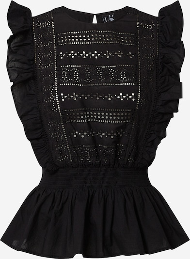 VERO MODA Blouse 'Simmi' in de kleur Zwart, Productweergave