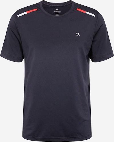 Sportiniai marškinėliai iš Calvin Klein Performance , spalva - šviesiai pilka / oranžinė-raudona / juoda, Prekių apžvalga