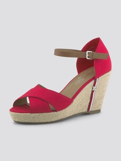 TOM TAILOR Sandaal in de kleur Rood, Productweergave