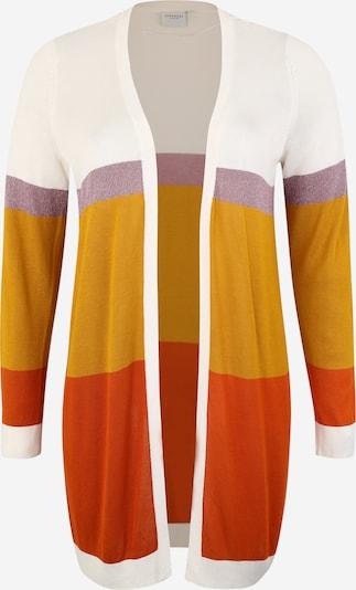 Junarose Kardigan 'JRFILIKA LS KNIT CADIGAN' w kolorze kremowy / pomarańczowo-czerwonym, Podgląd produktu