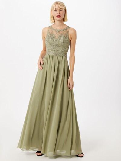 Laona Kleid in oliv, Modelansicht