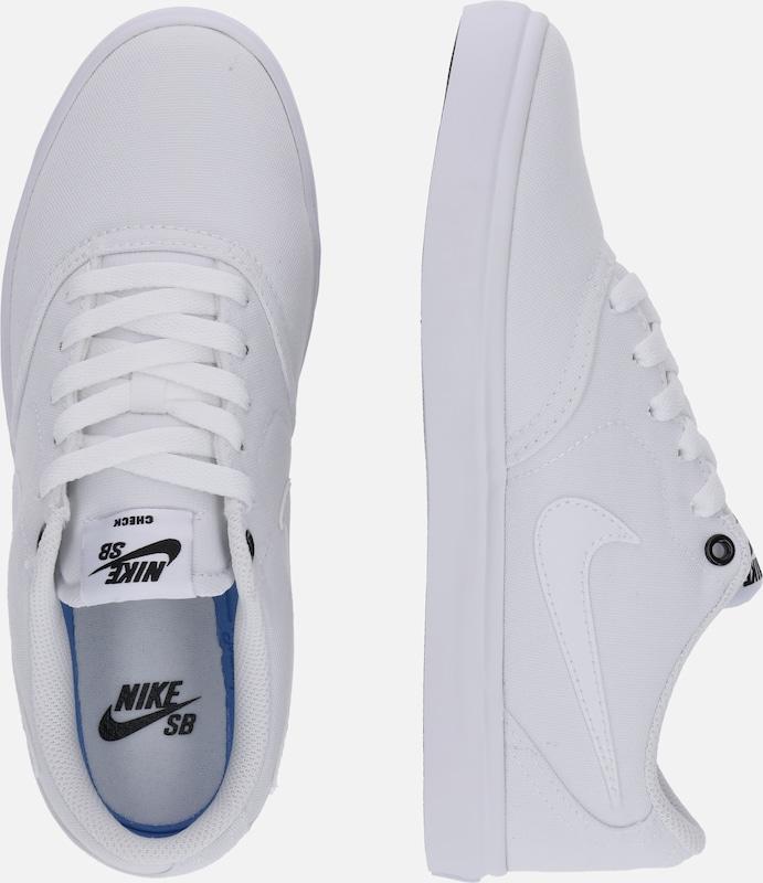 Basses Nike Baskets Solar' Blanc En Sb 'check iXPkZu