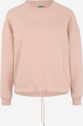 Urban Classics Collegepaita värissä vaaleanpunainen
