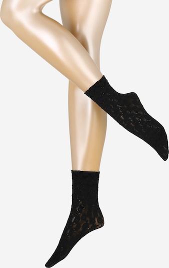 FALKE Socken  'Sweet Flor. SO' in schwarz, Produktansicht
