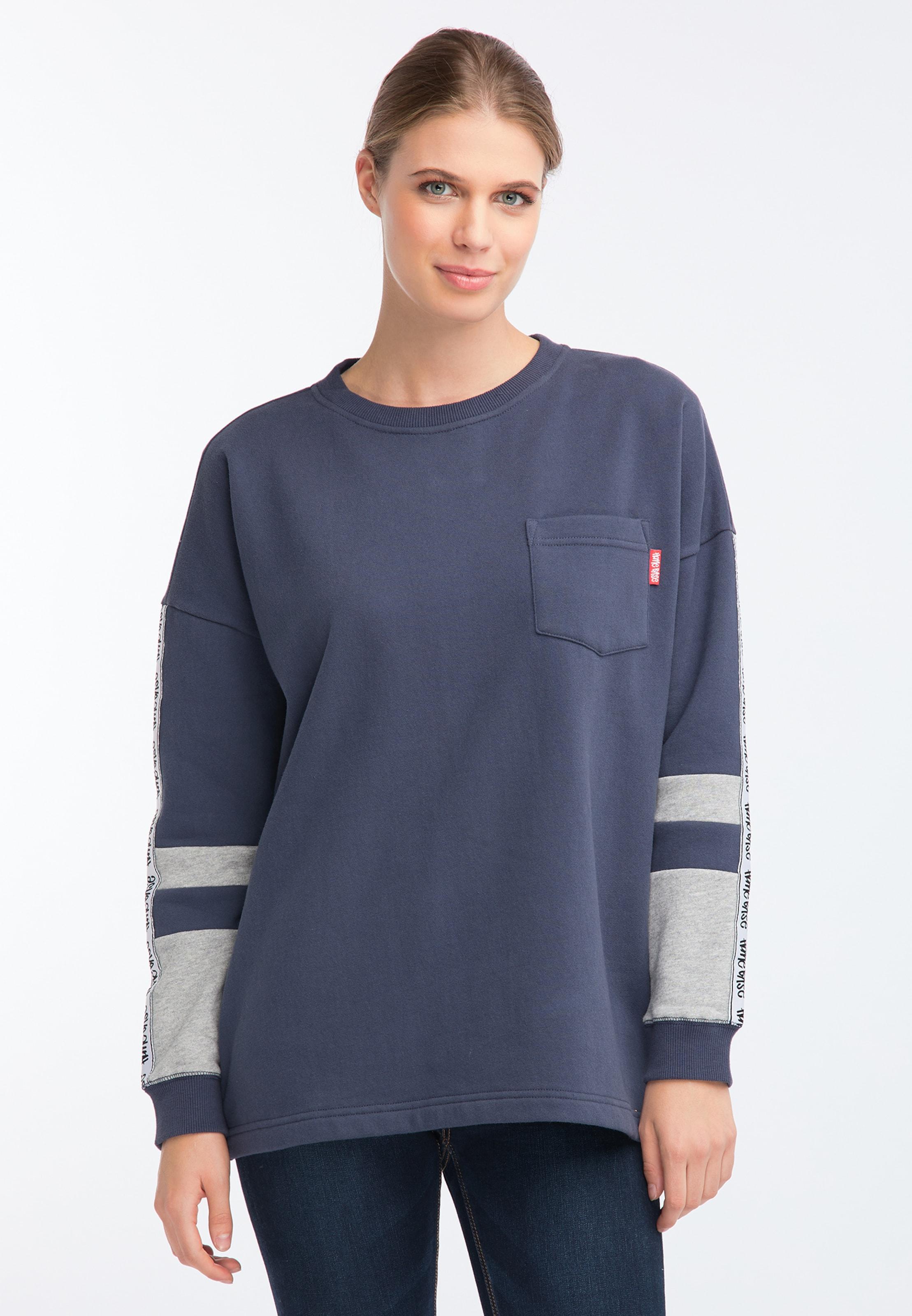 shirt MarineGris En Homebase Sweat Nw08nm