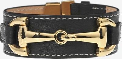 Dimacci Armband 'Orsini' in gold / schwarz, Produktansicht