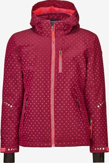 KILLTEC Skijacke 'Valjessa' in pink / himbeer, Produktansicht