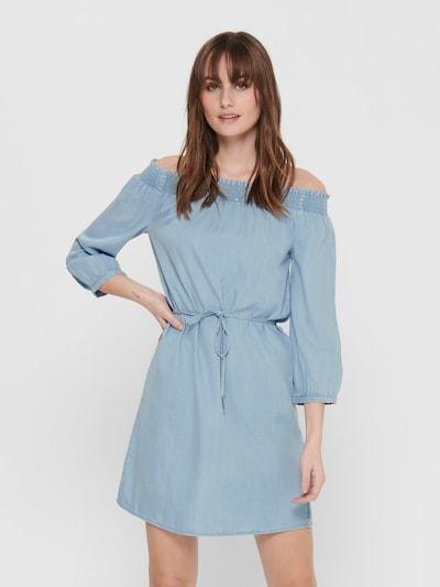 ONLY Kleid in blue denim / hellblau, Modelansicht