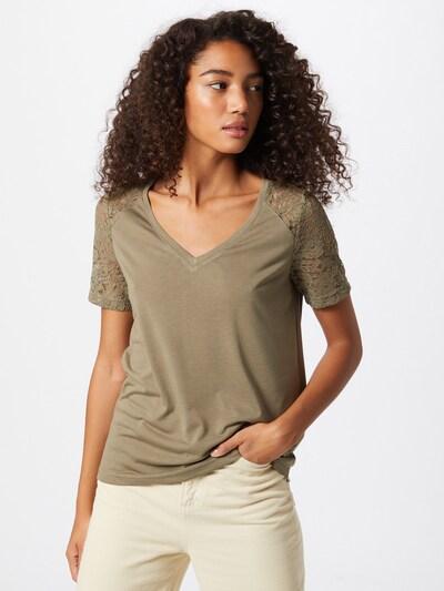JACQUELINE de YONG Blouse 'TINNE' in de kleur Kaki, Modelweergave