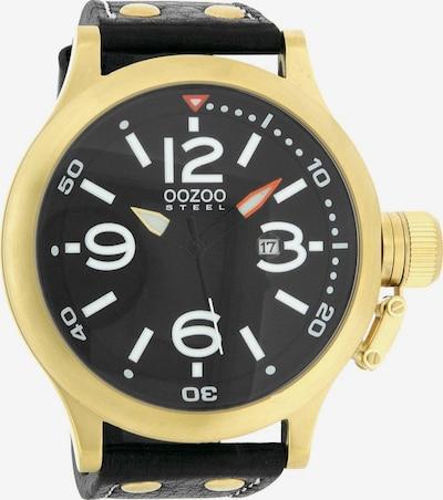 OOZOO Uhr 'OS203' in gold / schwarz, Produktansicht