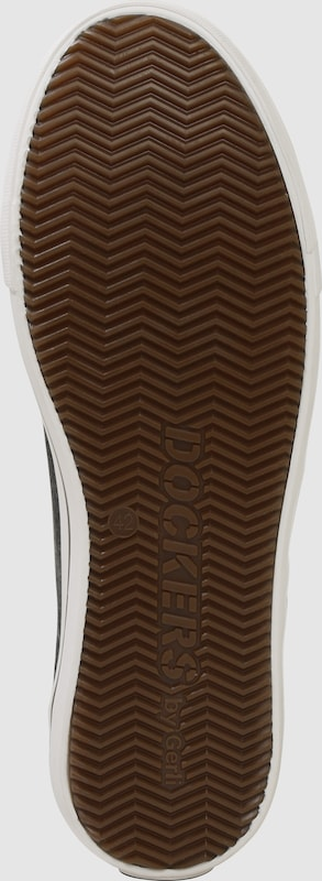 Dockers Ziernähten by Gerli Sneaker mit Ziernähten Dockers 4fbbd1
