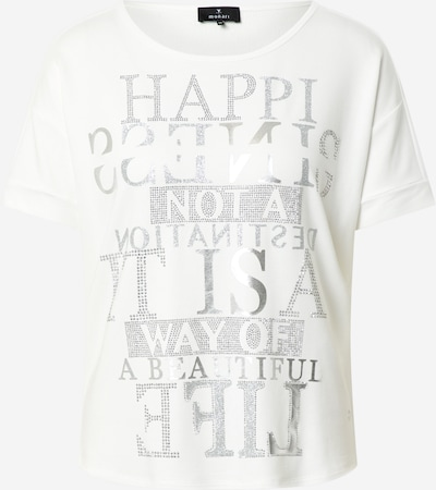 monari T-Shirt in grau / offwhite, Produktansicht
