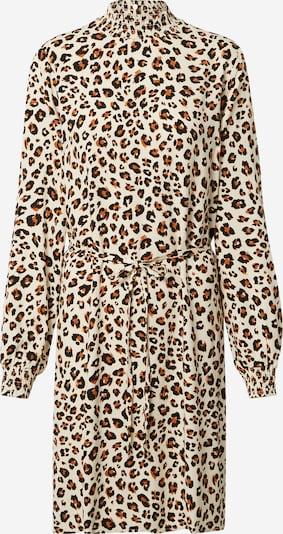 VILA Kleid 'Dania' in beige / braun / schwarz, Produktansicht