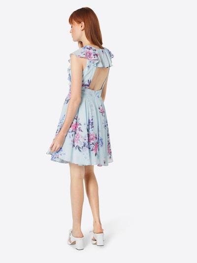 TFNC Kleid in hellblau: Rückansicht