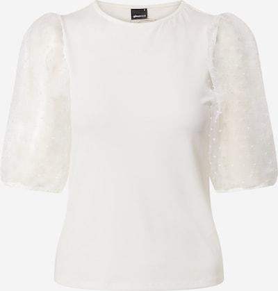Gina Tricot Shirt 'Pia Organza' in weiß, Produktansicht
