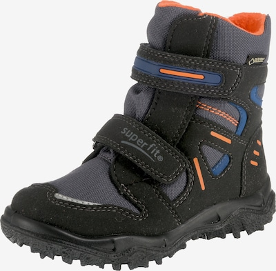 SUPERFIT Stiefel 'Husky in blau / grau / orange / schwarz, Produktansicht
