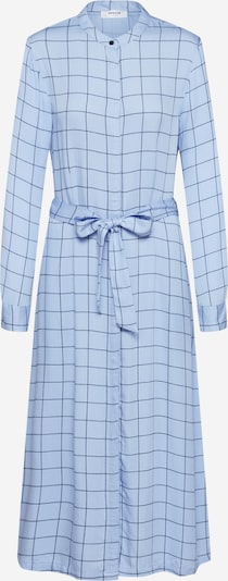 MOSS COPENHAGEN Blousejurk 'Meline Alana LS Dress AOP' in de kleur Blauw, Productweergave
