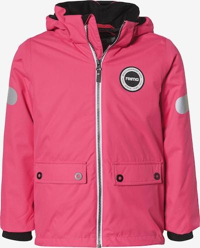 Reima Winterjacke 'Seiland' in pink / schwarz, Produktansicht