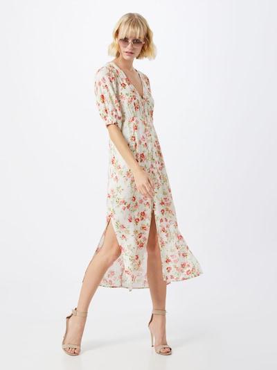 MINKPINK Kleid 'UNCHARTED' in rot / weiß, Modelansicht