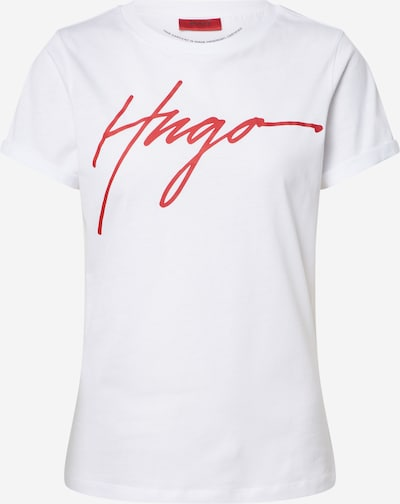 HUGO Shirt in weiß, Produktansicht