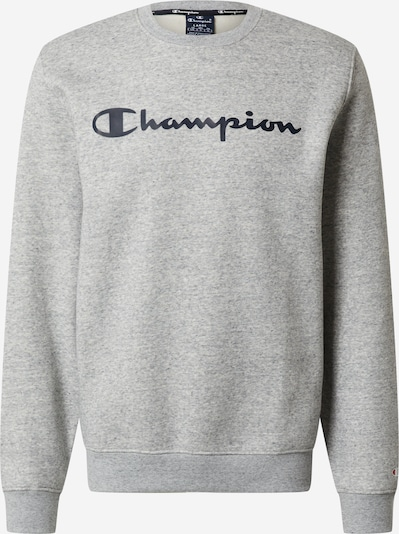Champion Authentic Athletic Apparel Sweater majica u noćno plava / siva, Pregled proizvoda