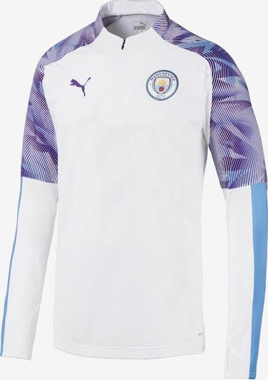 PUMA Sport-Sweatshirt 'Manchester City FC' in weiß, Produktansicht