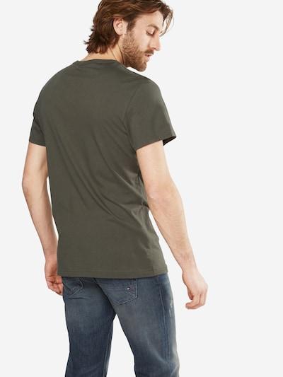 G-Star RAW T-Shirt 'Holorn r t s/s' in oliv / weiß: Rückansicht