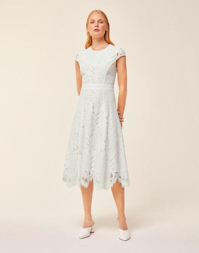 IVY & OAK Spitzenkleid in weiß, Modelansicht