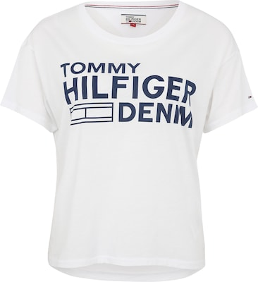 Tommy Jeans Shirt mit Label-Print
