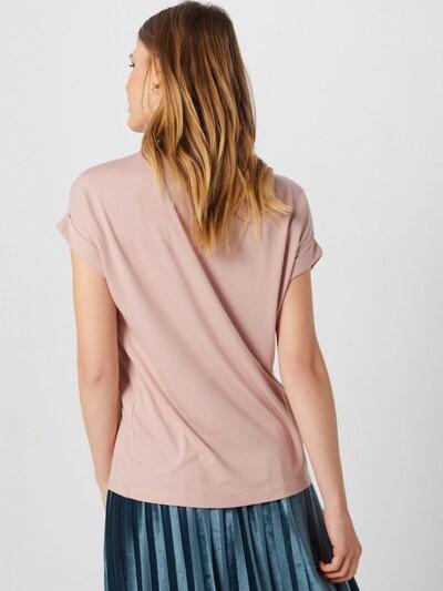 ONLY Lässiges T-Shirt in altrosa: Rückansicht
