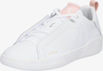 Sneaker low 'Uniklass Leather S-C18' de la ARKK Copenhagen pe alb