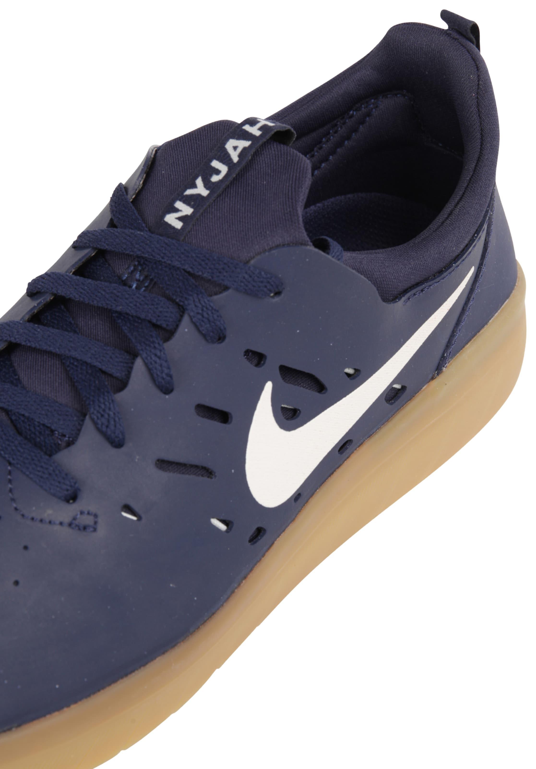 Sneaker NavyWeiß 'nyjah Sb In Nike Free' Qdsthr