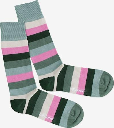 DillySocks Socken 'Pastel Field' in mischfarben, Produktansicht