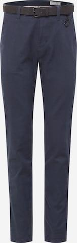 Pantalon chino TOM TAILOR DENIM en bleu