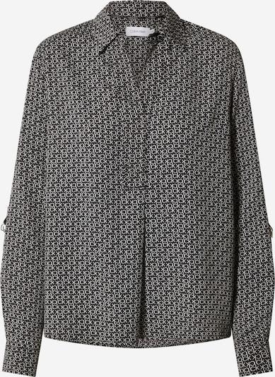Bluză Calvin Klein pe negru / alb, Vizualizare produs