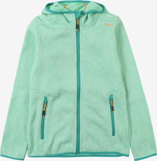 CMP Sweatvest 'GIRL FIX HOOD JACKET' in de kleur Mintgroen, Productweergave