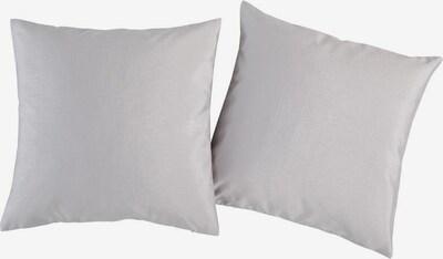 MY HOME Kissenhüllen in grau / dunkellila, Produktansicht