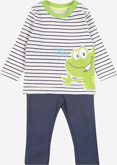Pijamale BLUE SEVEN pe albastru închis / verde deschis, Vizualizare produs