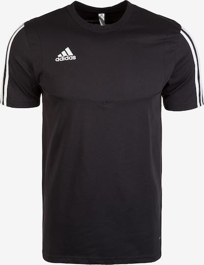 ADIDAS PERFORMANCE T-Shirt  'Tiro 19' in schwarz / weiß, Produktansicht