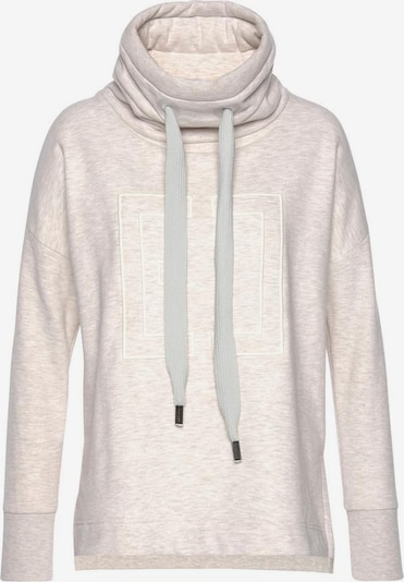 Elbsand Sweatshirt 'Birte' in beigemeliert, Produktansicht