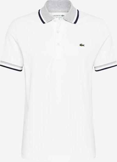 LACOSTE Shirt in grau / weiß, Produktansicht