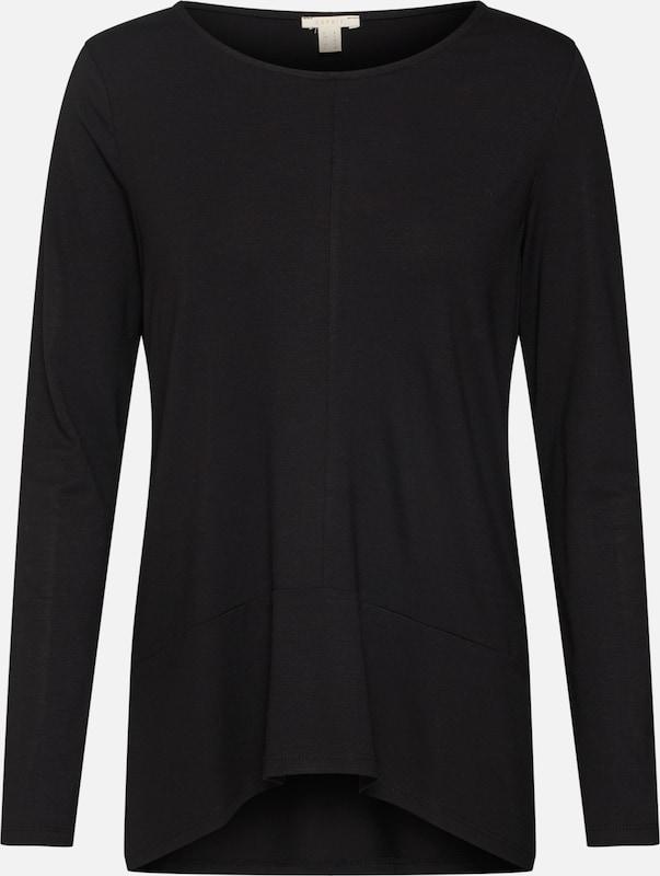 Esprit Esprit Zwart 'solid' In Shirt 76fgYby